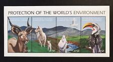 COMOROS 1999 MNH WILD ANIMALS STAMPS SHEET PROTECTION OF THE WORLD'S ENVIRONMENT