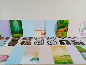 KANBAN Wobblers fuzzy friends Collection -  48 sheet stash.