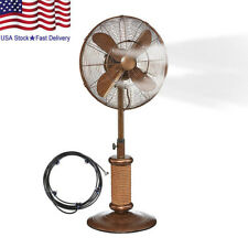 5M Portable Summer Outdoor Patio Garden Fan Spray Cooling Misting System Hot US