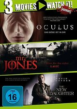 OCULUS/MR.JONES/THE NEW DAUGHTER 3 DVD NEU