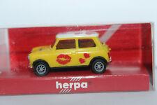 Mini Cooper I love my Mini  1:87  Herpa