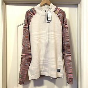 NEW Authentic ADIDAS x MISSONI PHX PRIMEKNIT WOOL White Multicolor Track Jacket