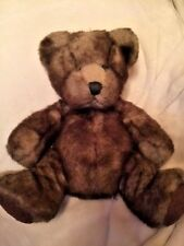 "Russ Berrie BOMBAY Stuffed Plush Teddy Bear DANNY ""12"" inches"