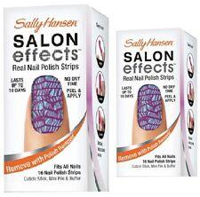 Sally Hansen Salon Effects Real Nail Polish Strips -07 Tight Rope- NIB x1