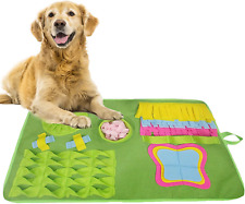 Dog Puzzle Toy Indoor Outdoor Stress Relief Snuffle Mat Feeding Cushion Puppy 1#