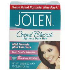 Original Jolen Mild Formula Facial plus AloeVera Creme Bleach Lightens Dark Hair