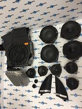 Mercedes w166  ML GL Harman Kardon sound system logic 7 set amplifier speakers