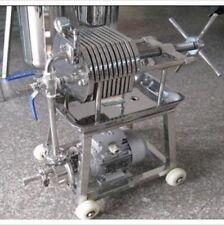 New listing 150 Stainless Steel Filter Press Filter Machine Lab Filtration Equipment bi