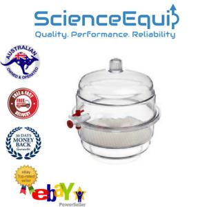 Desiccator Vacuum Transparent, LAB, Fully Autoclavable Dessicator, Polycarbonate
