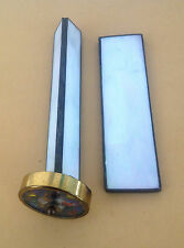 ESTATE ITEM-VINTAGE STAINED GLASS KALEIDOSCOPE