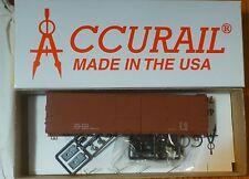 Accurail HO #4698 Data Min Red (USRA 40' Wood USRA Dbl Sheath Boxcar Kit)