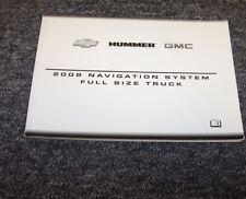 2008 Chevy Suburban 1500 2500 Suv Navigation System Owner Manual Ls Lt Ltz