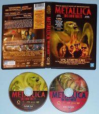 METALLICA - SOME KIND OF MONSTER 2DVD - DOUBLE W/ STICKER - BRAZIL - MEGA RARE