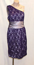 Apart Glamour_Kleid Coctail Party lila_Spitze_Gr:40_top zustand