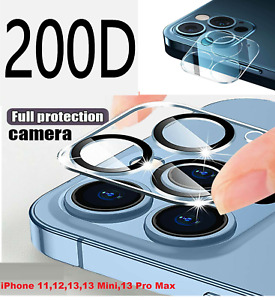 Rear Camera Lens Cover Tempered Glass Protector For iPhone 11 12 13 Pro Max XR X