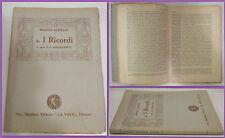 Marco Aurelio-i ricordi-I. Ghisalberti-1924-firenze-