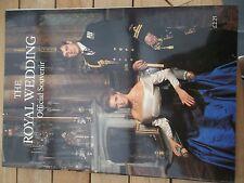 1986 ROYAL WEDDING OFFICIAL SOUVENIR SARAH FERGUSON PRINCE ANDREW DUKE OF YORK