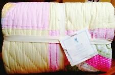 New w/ Tags Pottery Barn Leela Yellow & Pastel Colors Patchwork Quilt Full/Queen