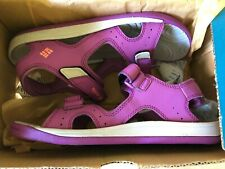 NEW Columbia Youth Techsun Vent Sandal Pink/Purple Size 5
