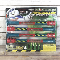 NEW Ghostbusters Marshmallow Straight Shooter 2014 Stay Puft Toy Slimer Ghost
