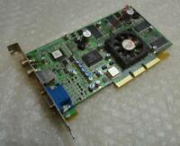 64MB ATI Radeon R6 DDRF 109-70700-01 VGA AGP Graphics Card Unit / GPU