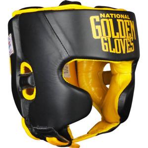 Golden Gloves Amateur Competition Headgear MEDIUM *READ*