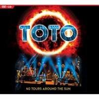 TOTO - 40 TOURS AROUND THE SUN (2CD+DVD)  2 CD+DVD NEW+