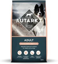 More details for autarky hypoallergenic succulent salmon dry dog food with added herbs, 12 kg uk