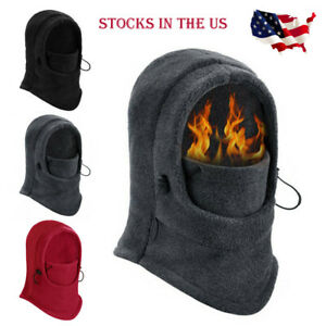 Windproof Fleece Neck Warmer Balaclava Full Face Mask for Cold Weather US STOCK