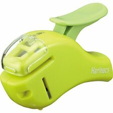 Kokuyo Stapleless Stapler Harinacs Compact Alpha Green Sln Msh305g Japan
