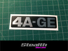 AE86 4A-GE Timing belt cover replacement sticker/ decal Premium Quality 4AGE