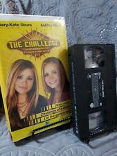 Mary-Kate , Ashley Olsen - The Challenge (VHS, 2003, Clamshell)