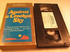 VHS Western Movie AGAINST A CROOKED SKY Richard Boone  [Z11]