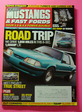 MUSCLE MUSTANGS & FAST FORDS  MAGAZINE AUG/2010..ROAD TRIP IN A 8-SEC. LX