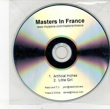 (EH72) Masters In France, Artificial Inches / Little Girl - DJ CD