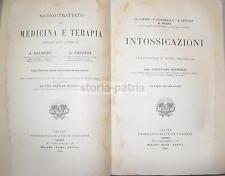 MEDICINA_TOSSICOLOGIA_IGIENE_NUTRIZIONE_VELENI_ALCOLISMO_FUNGHI_ALIMENTI TOSSICI