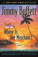 WHERE IS JOE MERCHANT? by Jimmy Buffett FREE SHIPPING paperback mystery book