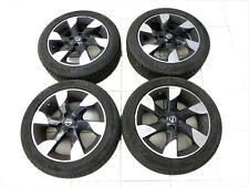 4x complete wheels Aluminum rim winter tires 185/55R16 4X100 5.0-7 Nissan Note E
