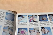 Fabric Frames Sewing Instruction Craft Pattern Book, GP 455 1980