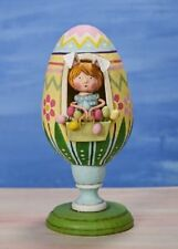 Lori Mitchell Be Blossom Easter Spring Egg Collectible Figurine Folk Art New