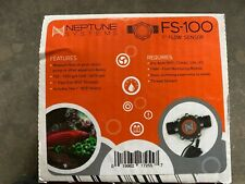 "Neptune Systems 1"" Flow Sensor Fs-100 with unions for Aquarium New"