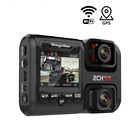 Dual Lens Car DVR 4K 2160P G-Sensor WIFI GPS Logger 2 Camera Dash Cam Video