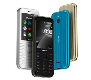 Nokia 8000 4G 2020 Dual Sim Unlocked Cell Phone 4GB KaiOS GPS WhatsApp Facebook