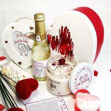 Sojawachs Kerze im Glas ECO-Kerzen Valentinstag Geschenk Box