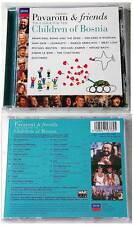 PAVAROTTI & FRIENDS (Brian Eno, Chieftains) For Children Of Bosnia .Decca CD TOP