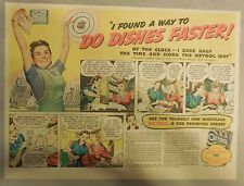 Oxydol Soap Ad: Do Dishes Faster ! from 1940's