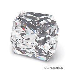 1.09 Carat H/VS2/Ex Cut Square Radiant AGI Earth Mined Diamond 5.54x5.40x4.32mm
