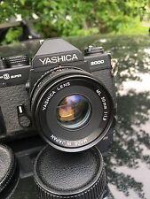 Yashica FX3 Super 2000 35mm SLR Film Camera with 50mm Lens & More!!!