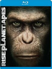 Rise of the Planet of the Apes (Blu-ray Disc, 2011)Brand new Sealed!