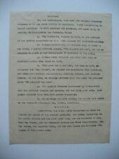 ERNEST SETON WOODCRAFT LEAGUE HISTORICAL DOCUMENT ABOUT BADEN-POWELL BOY SCOUTS